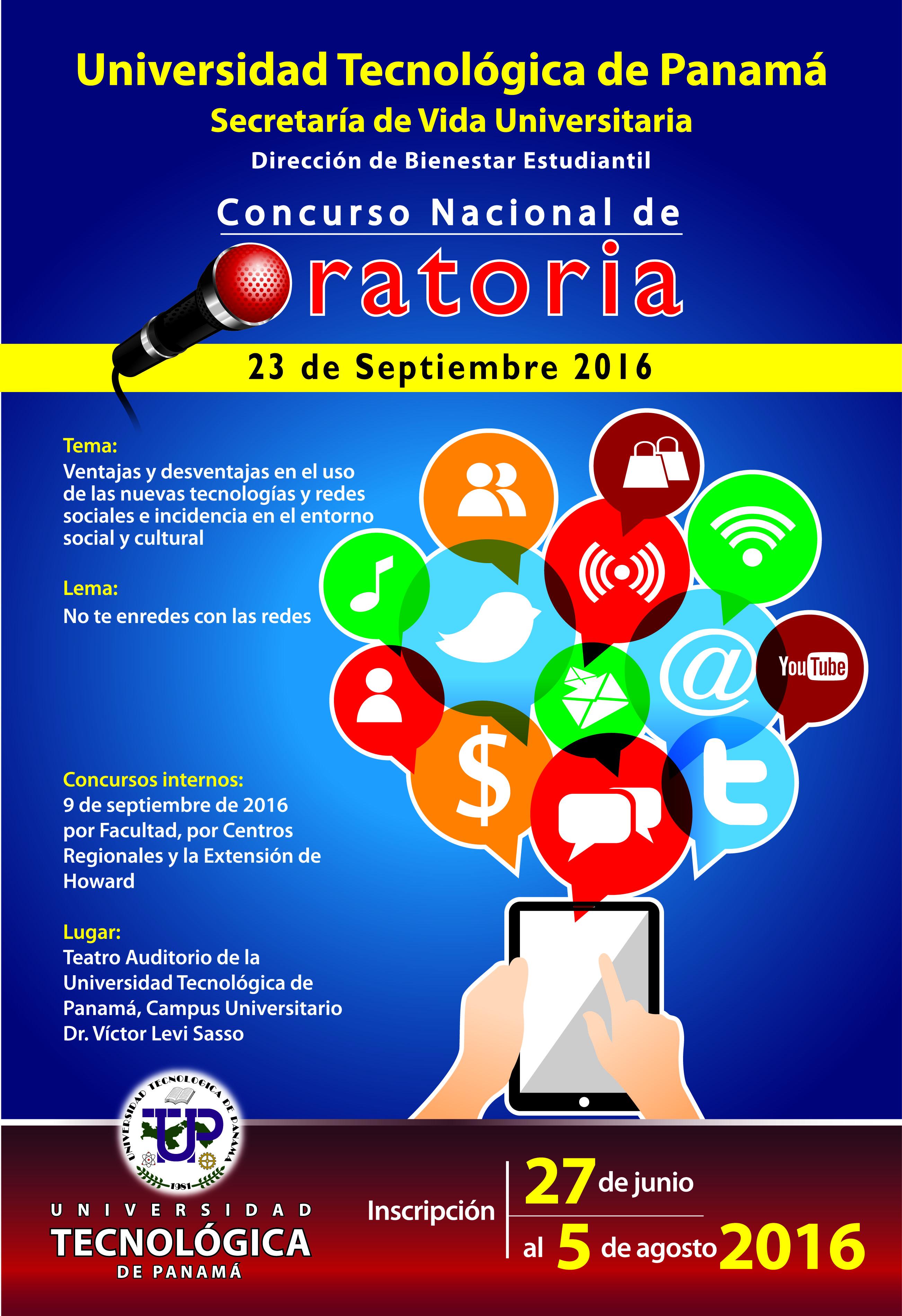 Semana de valores bases del concurso de oratoria 2016 for Concurso de docencia 2016