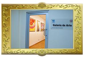 Logo del Concurso Siguiendo el Hilo del Arte en la UTP