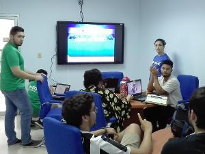 Salón de reuniones de grupos