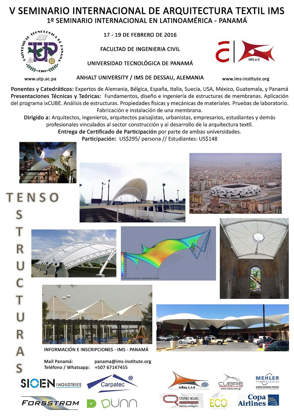 V Seminario Internacional de Arquitectura Textil IMS