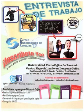 Cursos De Ingles En El Centro Regional De Colon Universidad Tecnologica De Panama