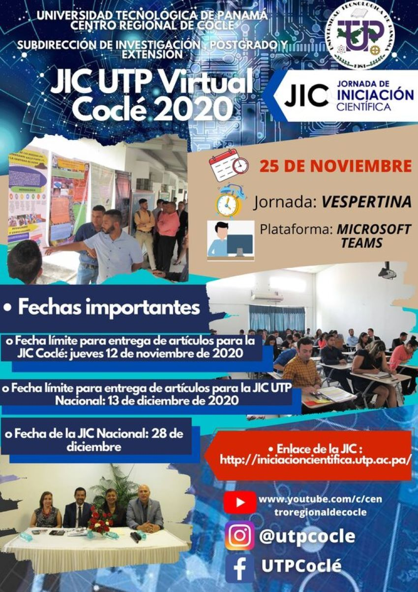 JIC UTP Virtual Coclé 2020
