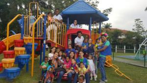 Actividad con niños Círculo K UTP