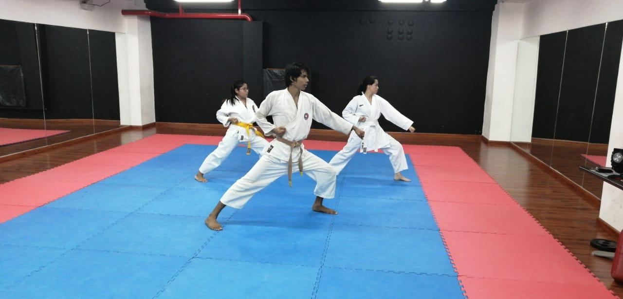 Entrenamientos de Karate