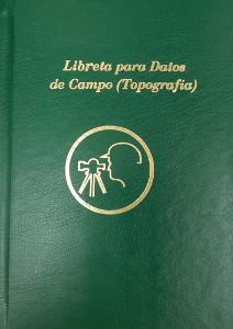 Libreta para Datos de Campo Topografía