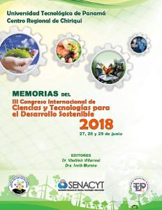 Memoria del III Congreso Internacional de Ciencias y Tecnologías para el Desarrollo Sostenible