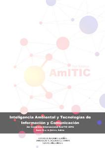 Congreso Inteligencia Ambiental y Tecnologías de Información y Comunicación