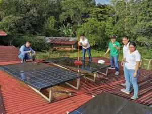 Trabajo de campo con jóvenes de ASME