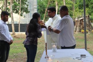 Eucaristía en el Campus UTP