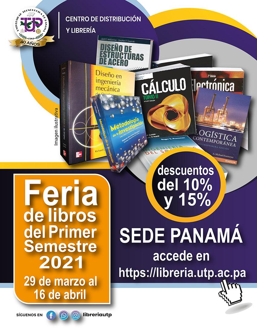 Feria de los Libros del Primer Semestre 2021