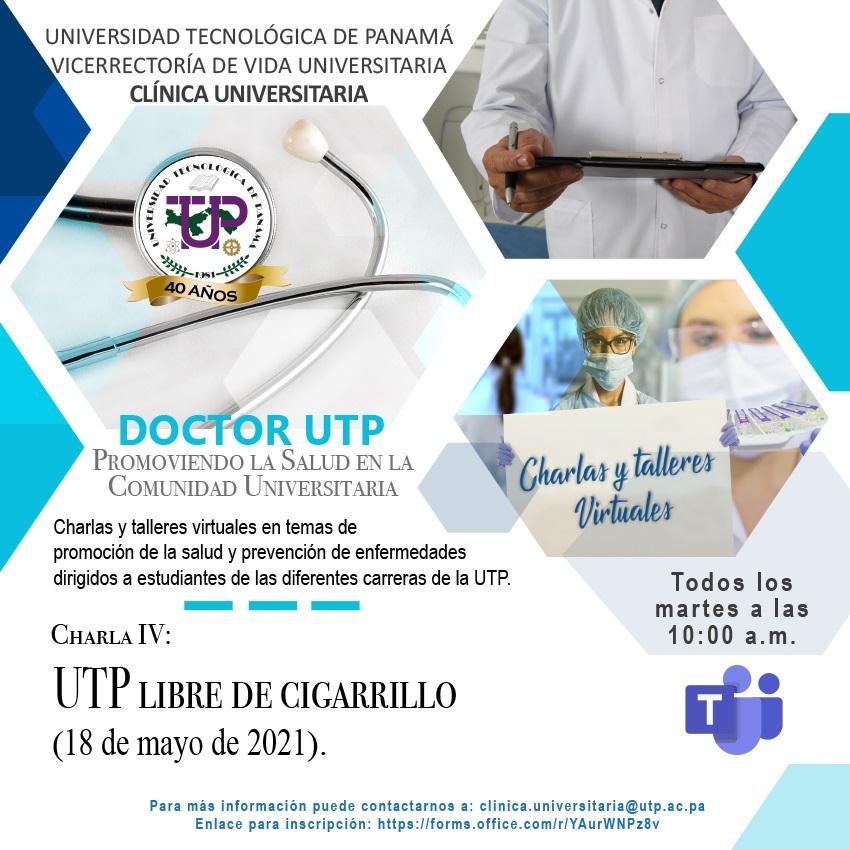 Charla IV: UTP Libre de Cigarrillo