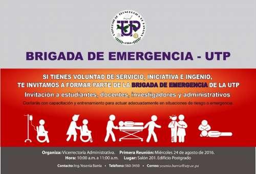 Brigada de emergencia UTP