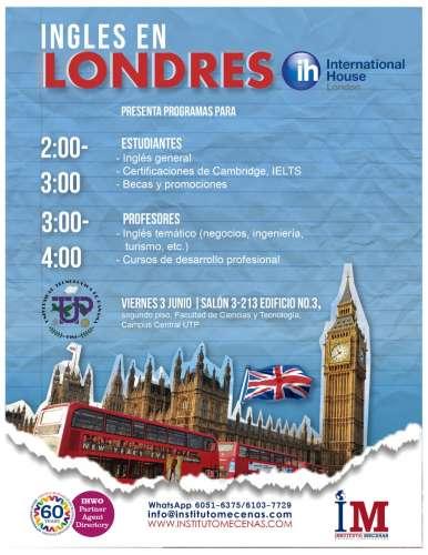 Sesión Informativa: Estudia Inglés en Londres