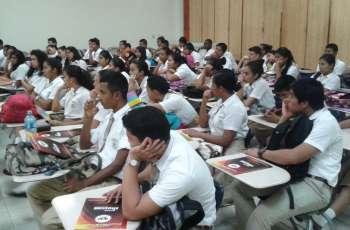 Se capacitaron a los estudiante sobre la oferta académica 2016-2017, de la UTP.