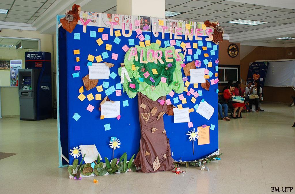 Los valores como pilares de la juventud universidad - Murales con fotos ...
