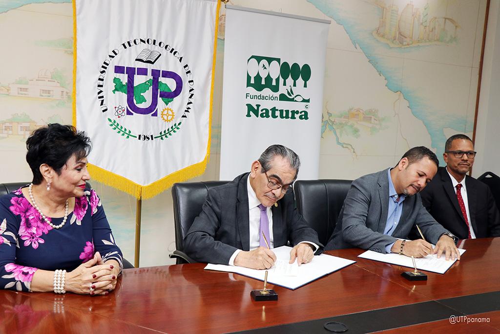 Convenio entre la UTP y Fundación Natura