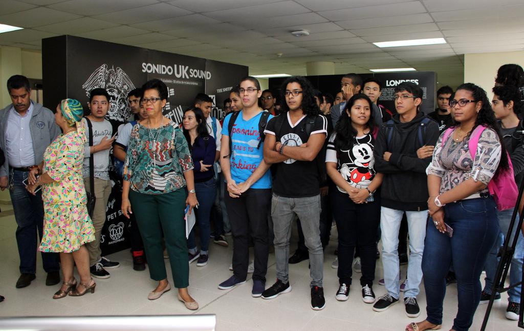 Exposici N Sonido Uk Sound En La Utp Universidad Tecnol Gica De Panam