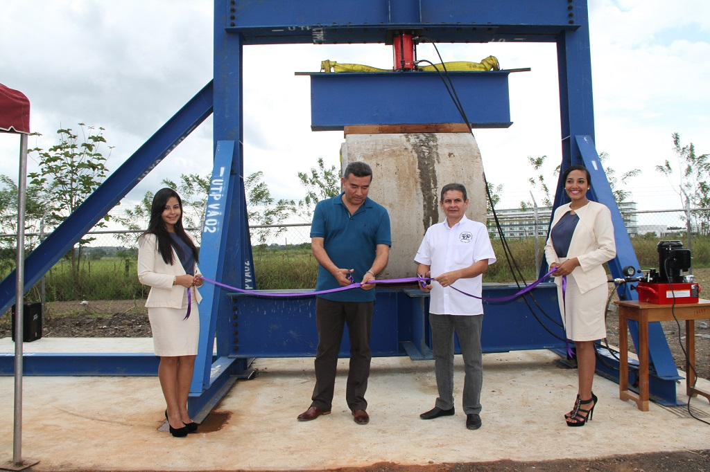 Inauguración de Nuevo Marco de Pruebas Estructurales | Universidad ...