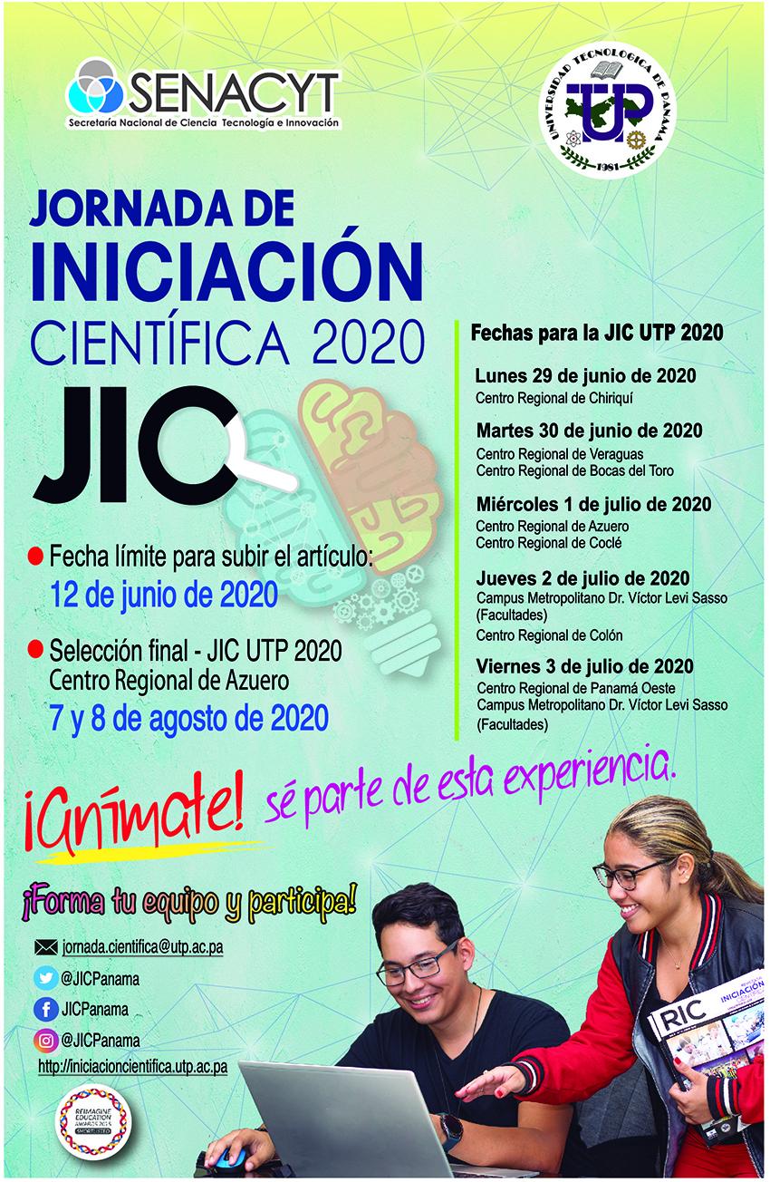Jornada de Iniciación Científica 2020