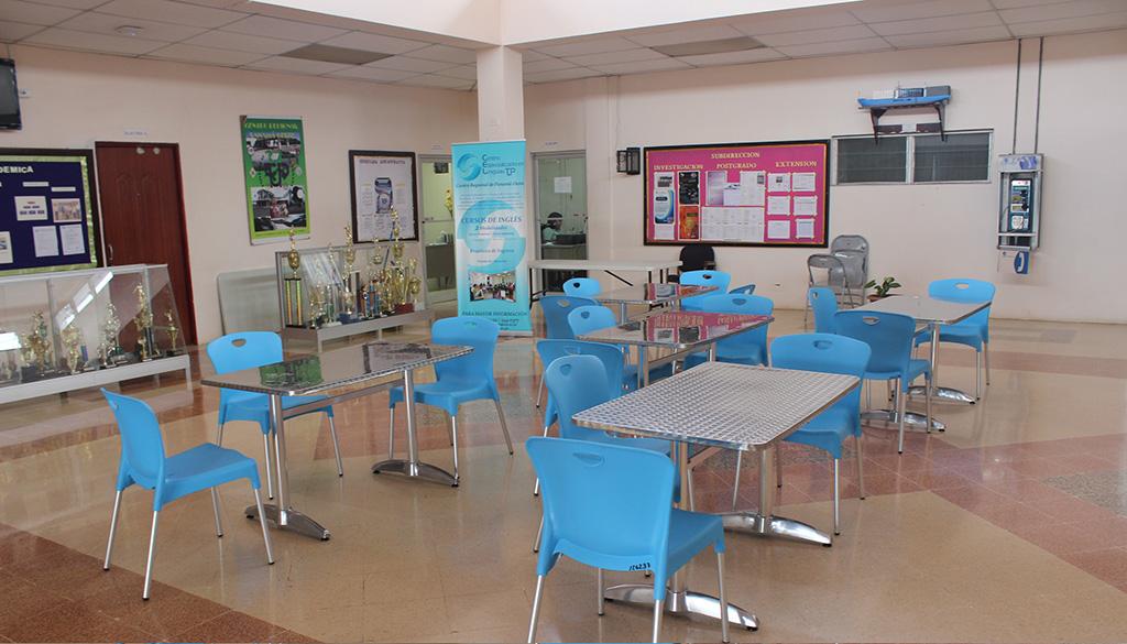 Nuevo mobiliario para la cafeter a universidad for Mobiliario cafeteria
