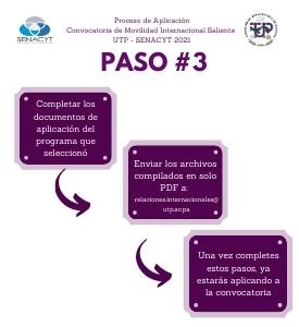 paso 3 proceso de aplicación