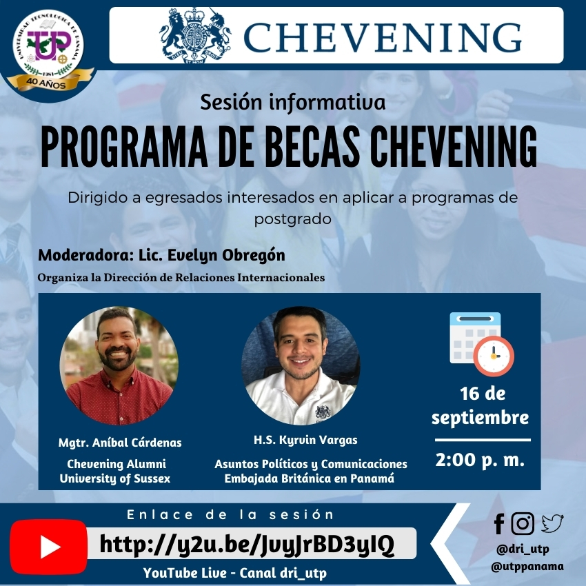 Sesión Informativa: Programa de Becas Chevening