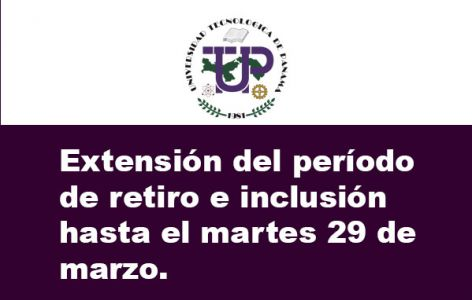 Extensión del período de retiro e inclusión
