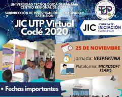 JIC UTP Virtual Coclé 2020