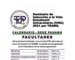 Seminario de Inducción a la Vida Estudiantil Universitaria (IVEU)2021