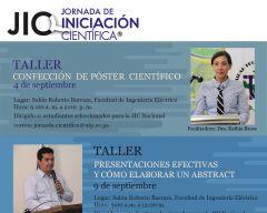 Talleres: Confección de Póster Científico /Presentaciones efectivas y cómo elaborar un abstract