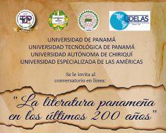 Conversatorio en línea: La Literatura Panameña en los Últimos 200 años