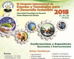 III Congreso Internacional de Ciencias y Tecnologías para el Desarrollo Sostenible 2018