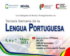 Invitación a la Tercera Semana de la Lengua Portuguesa
