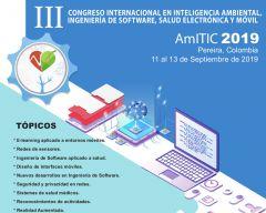 Invitación al II Congreso Internacional en Inteligencia Ambiental, Ingeniería de Software, Salud Electrónica y Móvil.