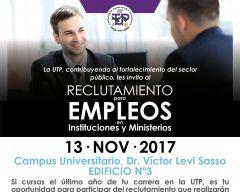 Invitación a Feria de Empleos