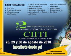 2do Congreso Internacional de Ingeniería, Tecnología e Innovación (CIITI)