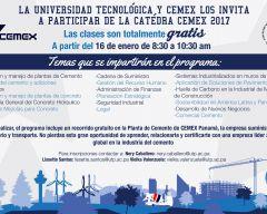 Segunda versión el Seminario Cátedra CEMEX