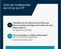 Ciclos de Conferencias I+D en la UTP