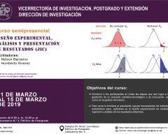 Diseño experimental, análisis y presentación de resultados (JIC)