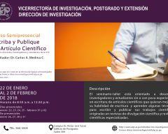 Seminario-Taller: Escriba y Publique su Artículo Científico