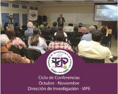 Noveno Ciclo de Conferencia I+D en la UTP - Octubre -Noviembre