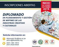 Diplomado en Planeamiento y Gestión de MYPYMES de las Industrias Creativas y Culturales