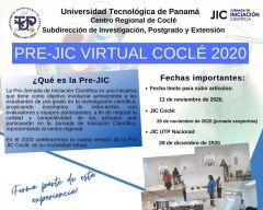 PRE-JIC Virtual Coclé 2020