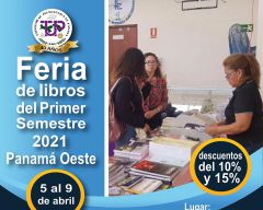 Feria de los Libros del Primer Semestre 2021 Panamá Oeste