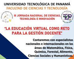 III Jornada Nacional de Ciencias, Tecnología e Innovación.