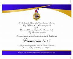 Graduación Centro Regional de Panamá Oeste