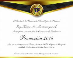 Graduación Prom 2018