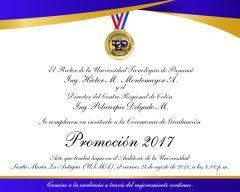 Invitación a la Graduación de Colón