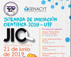 Jornada de Iniciación Científica UTP
