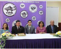 Toma de Posesión de las nuevas Autoridades de la Facultad de Ingeniería Civil